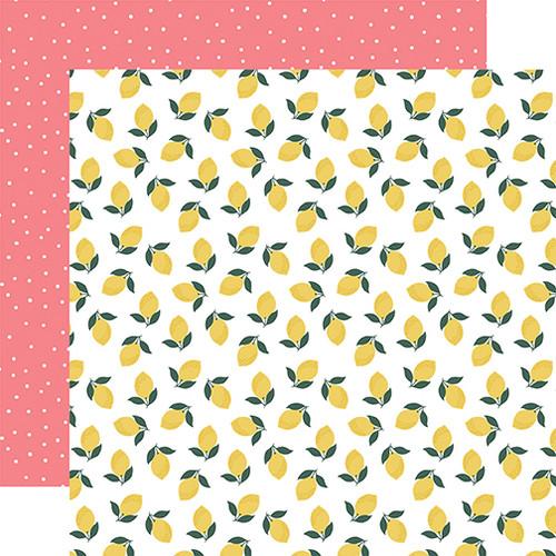 Echo Park Pool Party 12x12 Paper: Make Lemonade