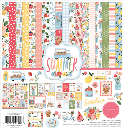 Carta Bella Summer Collection Kit