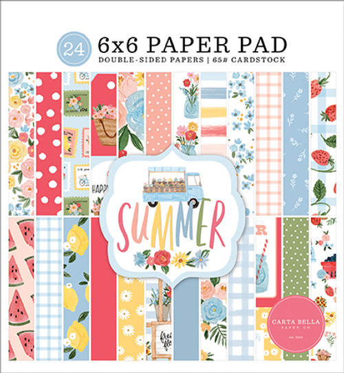 Carta Bella Summer 6x6 Paper Pad