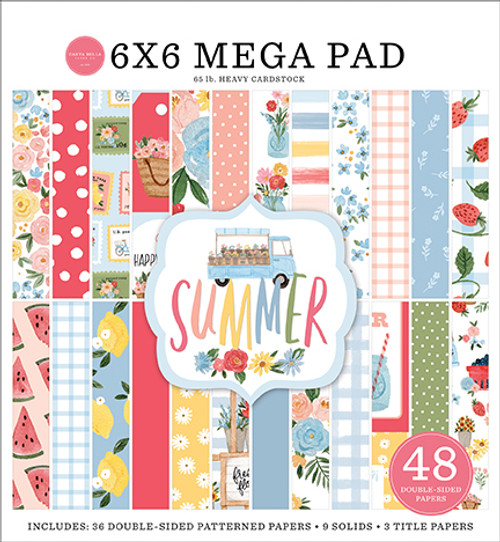 Carta Bella Summer Cardmakers 6x6 Mega Pad
