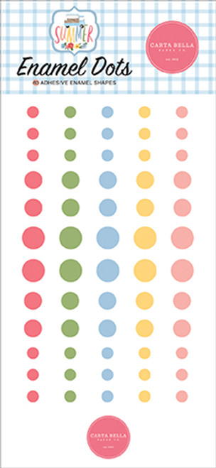 Carta Bella Summer Enamel Dots