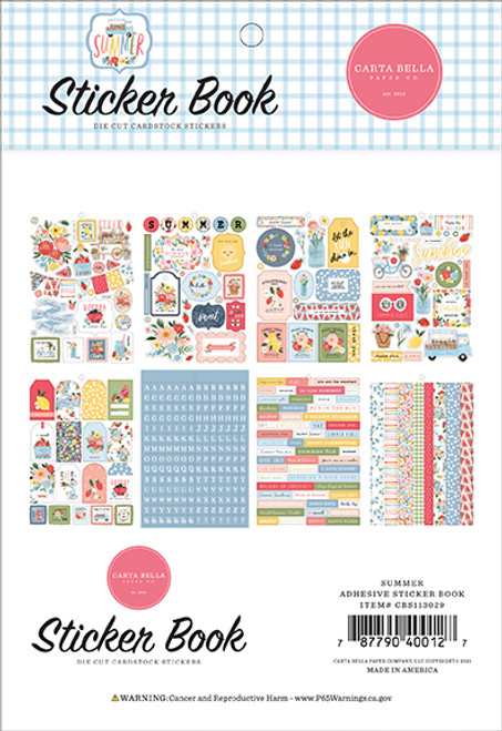 Carta Bella Summer Sticker Book