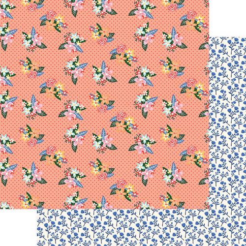 Fancy Pants Peachy Keen 12x12 Paper: Sweet Days