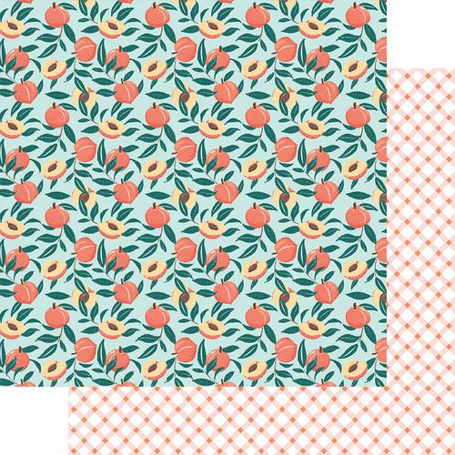 Fancy Pants Peachy Keen 12x12 Paper: Just Peachy