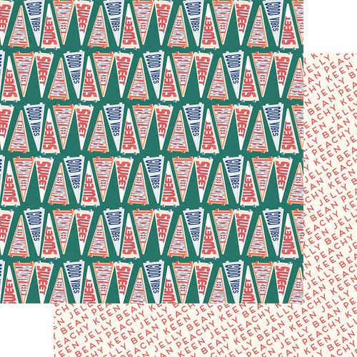 Fancy Pants Peachy Keen 12x12 Paper: Peachy Keen