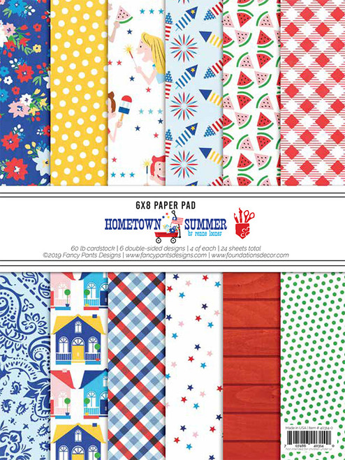 Fancy Pants Hometown Summer 6x8 Paper Pad