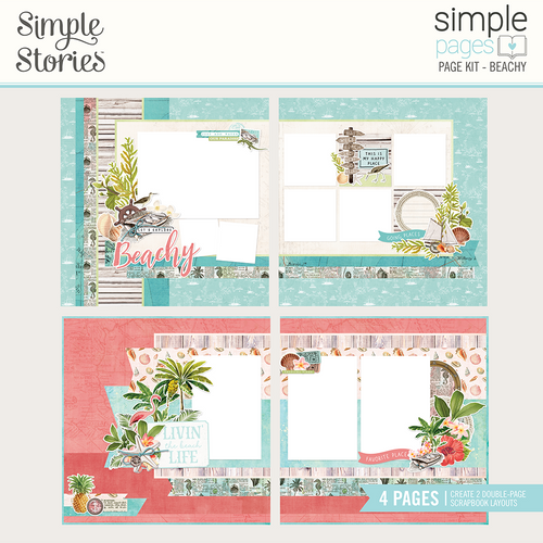 """Simple Stories """"Simple Pages"""" Page Kit: Beachy"""
