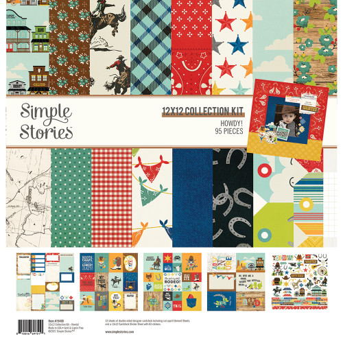Simple Stories Howdy! Collection Kit