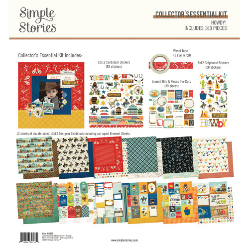 Simple Stories Howdy! Collector's Essential Kit
