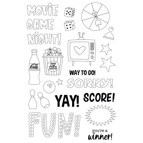 Simple Stories Family Fun Stamps