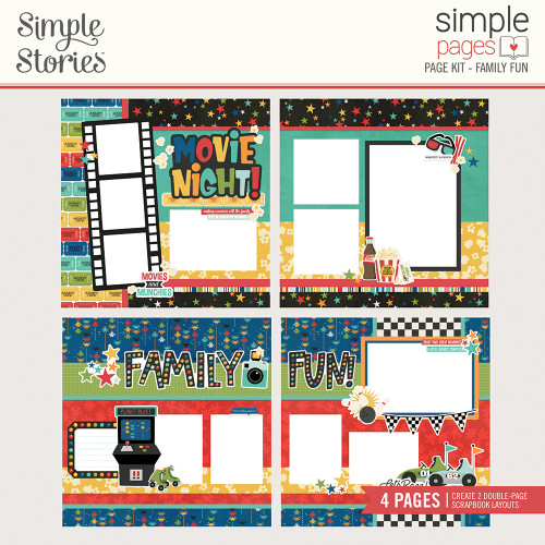 """Simple Stories """"Simple Pages"""" Page Kit: Family Fun"""