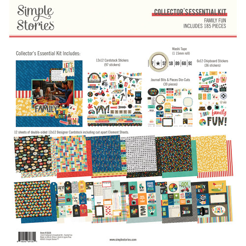 Simple Stories Family Fun Collector's Essential Kit
