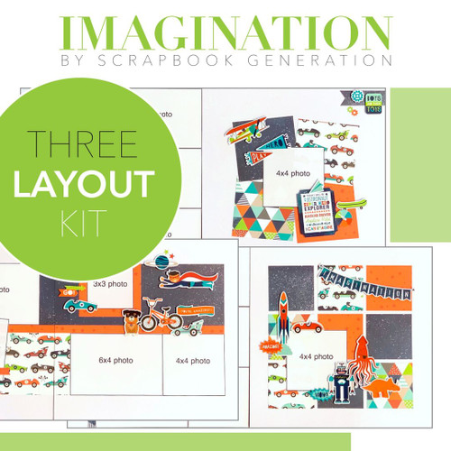 SG: Imagination - 3 Layout Kit