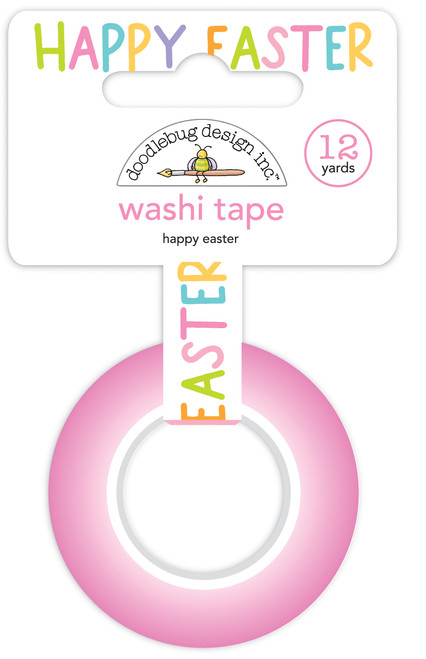 Doodlebug Hippity Hoppity Washi Tape: Happy Easter