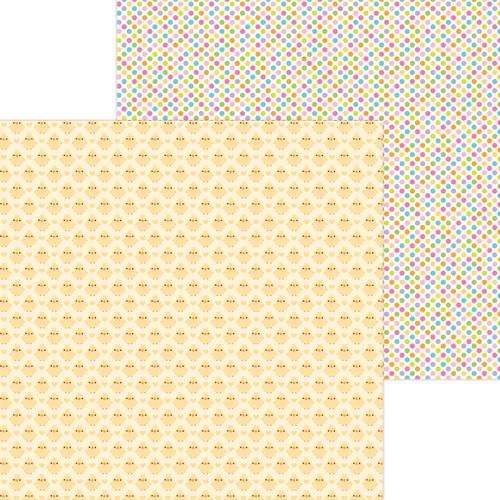 Doodlebug Hippity Hoppity 12x12 Paper: My Peeps