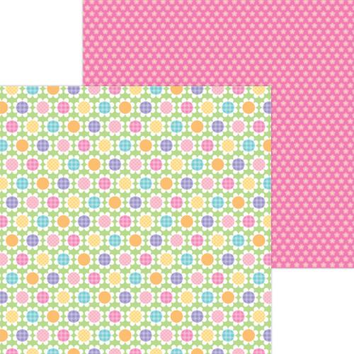 Doodlebug Hippity Hoppity 12x12 Paper: Spring Has Sprung