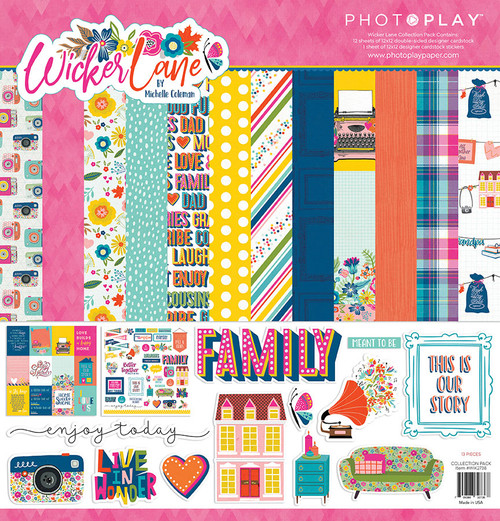 PhotoPlay Wicker Lane Collection Pack