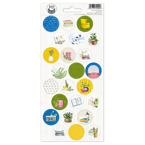P13 Garden of Books Stickers: 03