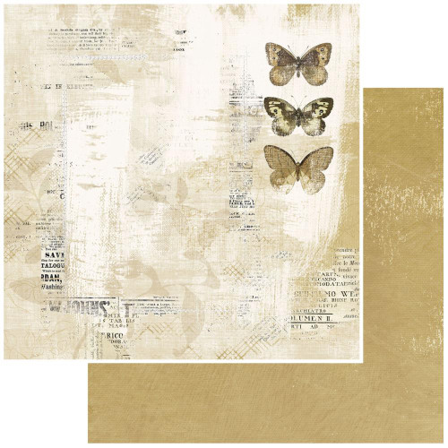49 and Market Vintage Artistry 12x12 Paper: Everyday | Lucent Ladies