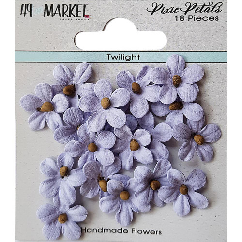 49 and Market Pixie Petal Handmade Flowers: Twilight