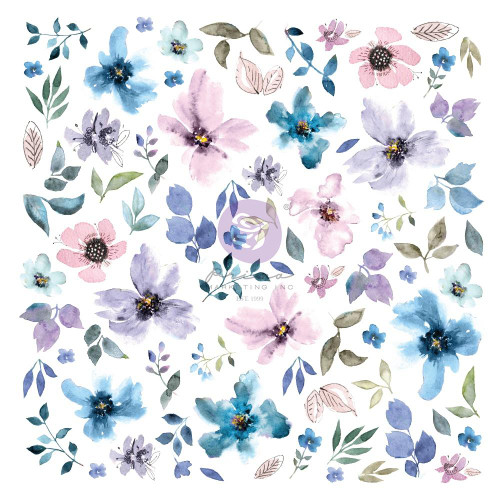 Prima Marketing Watercolor Floral Ephemera
