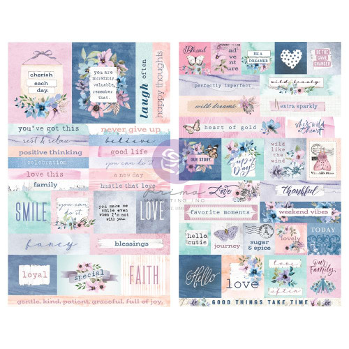 Prima Marketing Watercolor Floral Stickers