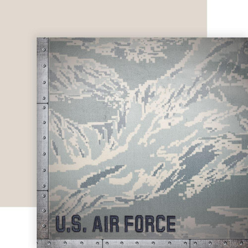 Paper House Productions 12x12 Military Paper: US Air Force Camo
