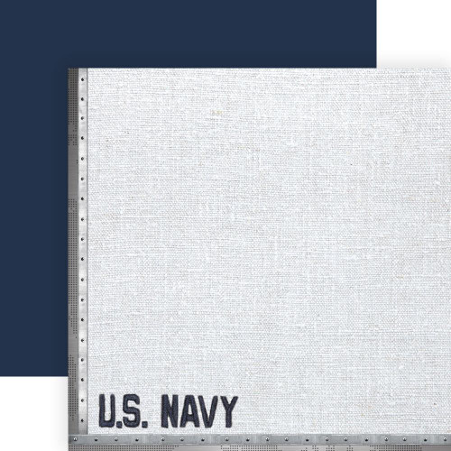 Paper House Productions 12x12 Military Paper: US Navy