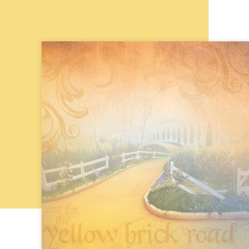 Paper House Productions 12x12 Wizard of Oz Papers: Yellow Brick Road