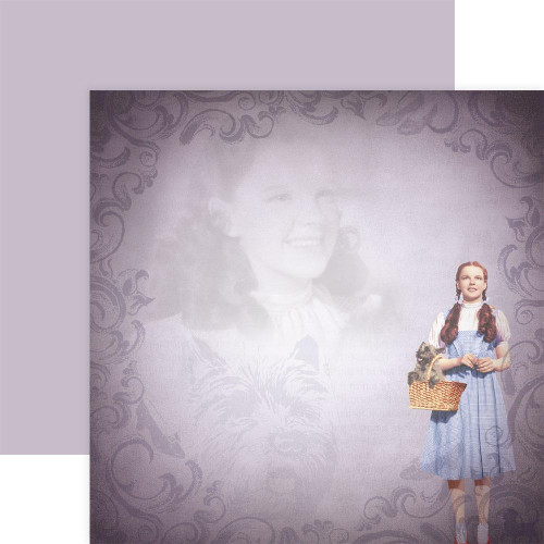 Paper House Productions 12x12 Wizard of Oz Papers: Dorothy & Toto
