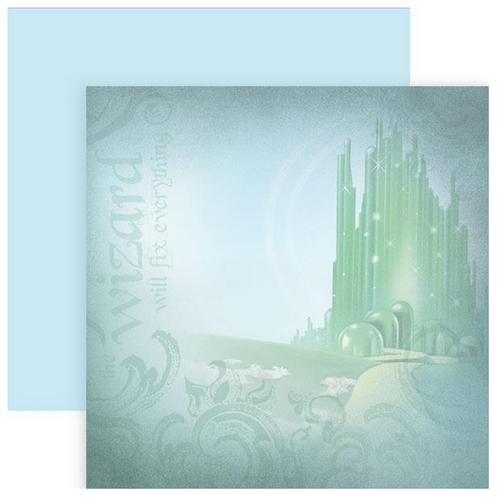 Paper House Productions 12x12 Wizard of Oz Papers: Emerald City