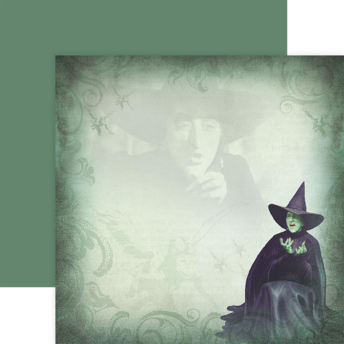 Paper House Productions 12x12 Wizard of Oz Papers: Wicked Witch