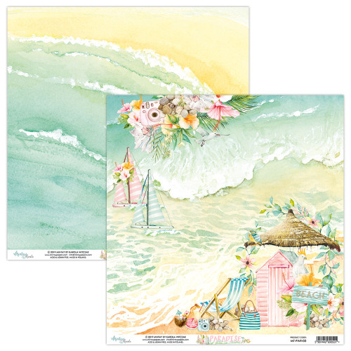 Mintay Papers 12x12 Paper: Paradise - 03