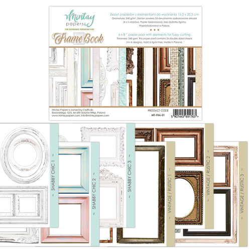 Mintay Papers Frame Book 6x8 Paper Pad