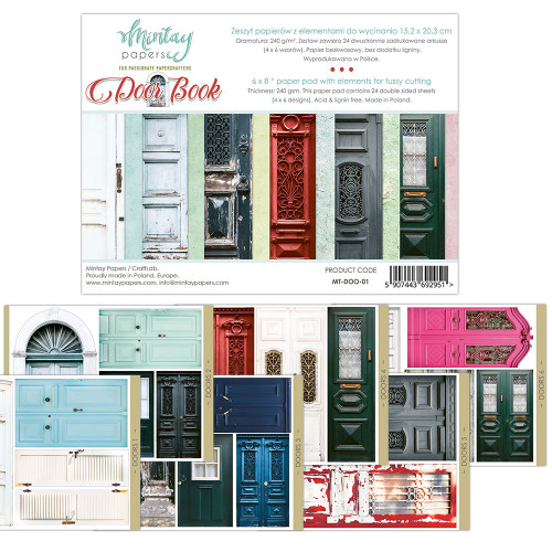 Mintay Papers Door Book 6x8 Paper Pad