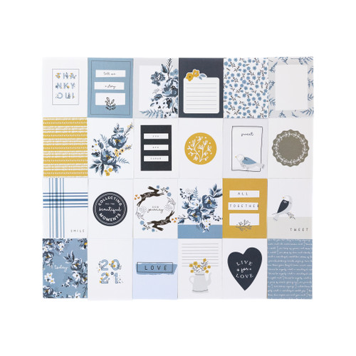 My Mind's Eye Gingham Foundry Journal Cards