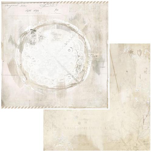 49 and Market Vintage Artistry 12x12 Paper: Essentials | Savor