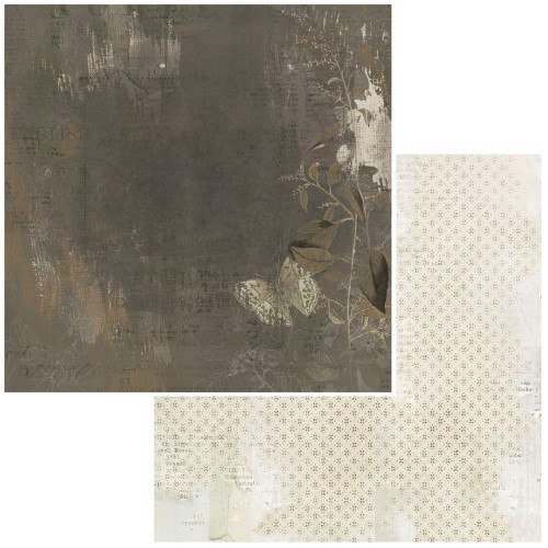 49 and Market Vintage Artistry 12x12 Paper: Essentials   Shadows