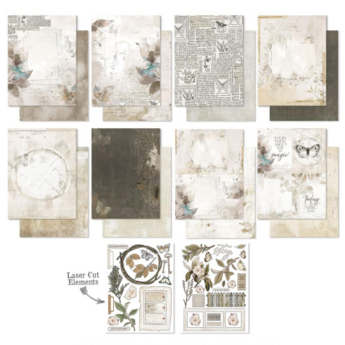 49 and Market Vintage Artistry 6x8 Paper Pad: Essentials