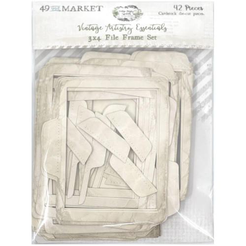 49 and Market Vintage Artistry 3x4 File Frame Set: Essentials