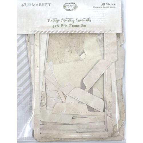 49 and Market Vintage Artistry 4x6 File Frame Set: Essentials