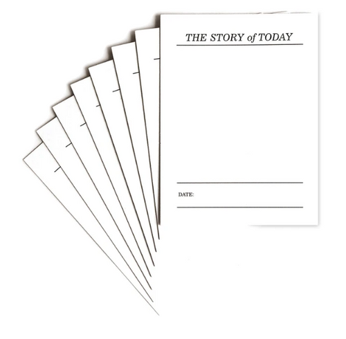 Elle's Studio Journaling Tags: The Story of Today