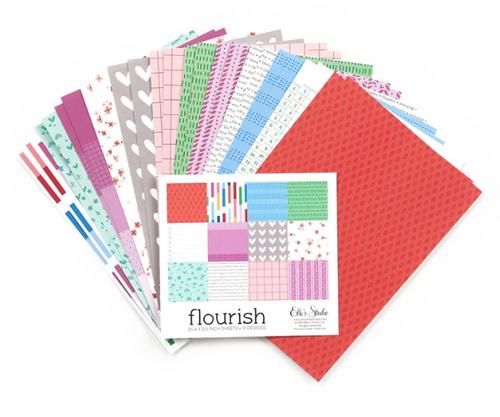 Elle's Studio 6x8.5 Paper Pad: Flourish
