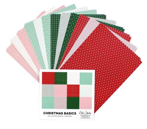 Elle's Studio 6x8.5 Paper Pad: Christmas Basics