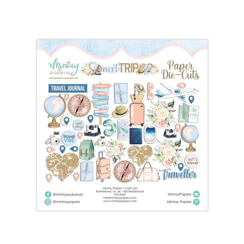 Mintay Papers Paper Diecuts: Next Trip