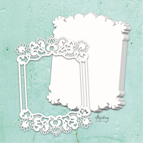 Mintay Papers Chippies Chipboard Album Base: Frame
