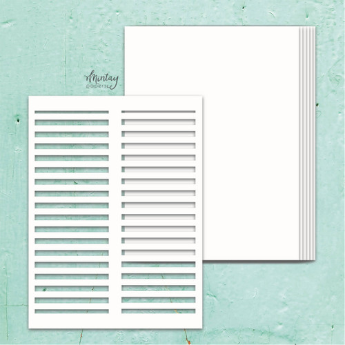 *PREORDER* Mintay Papers Chippies Chipboard Album Base: Shutters