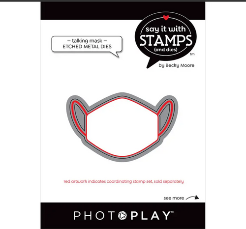 PhotoPlay Say It With Stamps: Talking Masks Dies