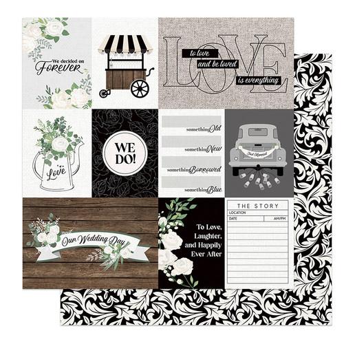 PhotoPlay Love & Cherish 12x12 Paper: We Do