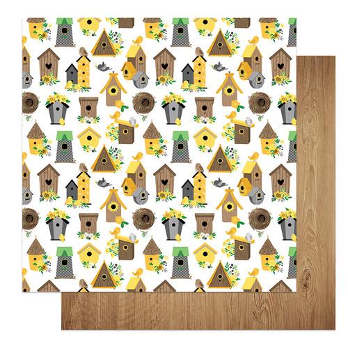 PhotoPlay Tulla & Norbert's Sweet As Honey 12x12 Paper: Tweet Tweet